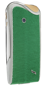 LuxuryVolt Savelli Jardin Collection iguana-emerald back