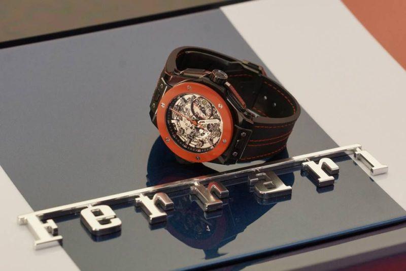 Hublot Ferrari big bang limited edition hong kong swiss_1