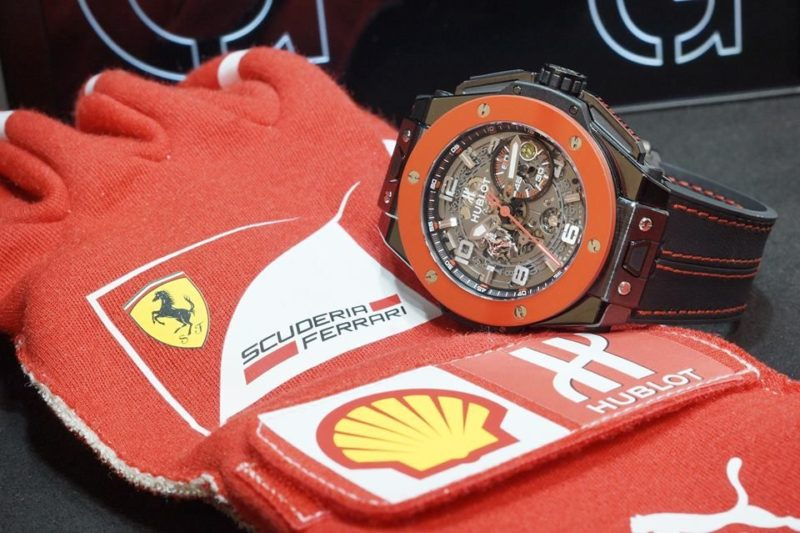 Hublot Ferrari big bang limited edition hong kong swiss_2