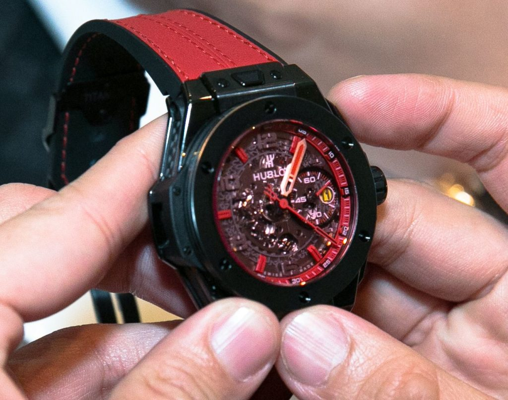 Hublot Ferrari big bang limited edition singapore swiss