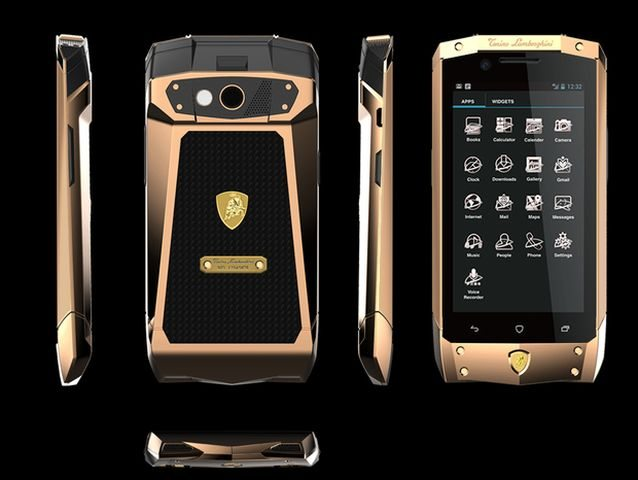 Lamborghini Luxury Phone With Android 4 2 Luxuryvolt Com