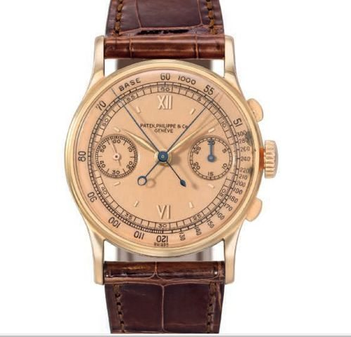 PATEK PHILIPPE 18K PINK GOLD WITH PINK DIAL CHRISTIE'S LUXURY-1