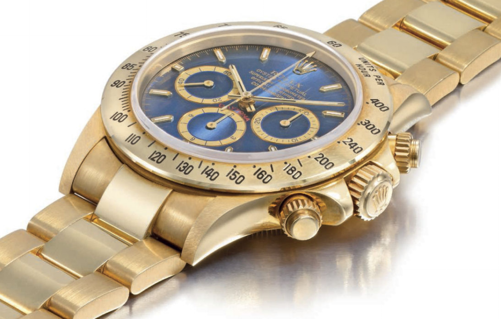 rolex daytona christie's lot 40 1990 swiss watch
