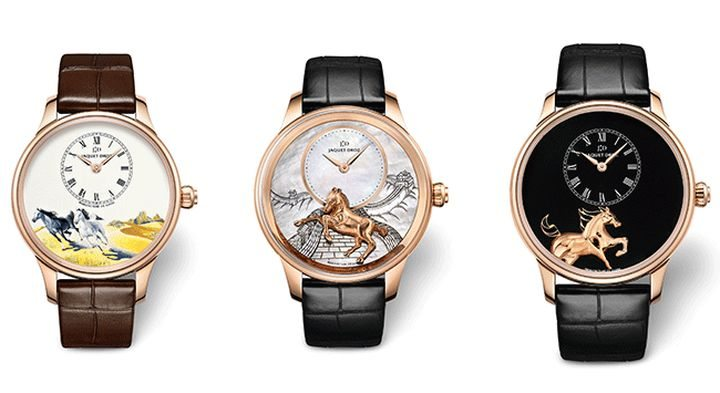 Jaquet Droz Horse Watches For Chinese Year Of Horse 2014