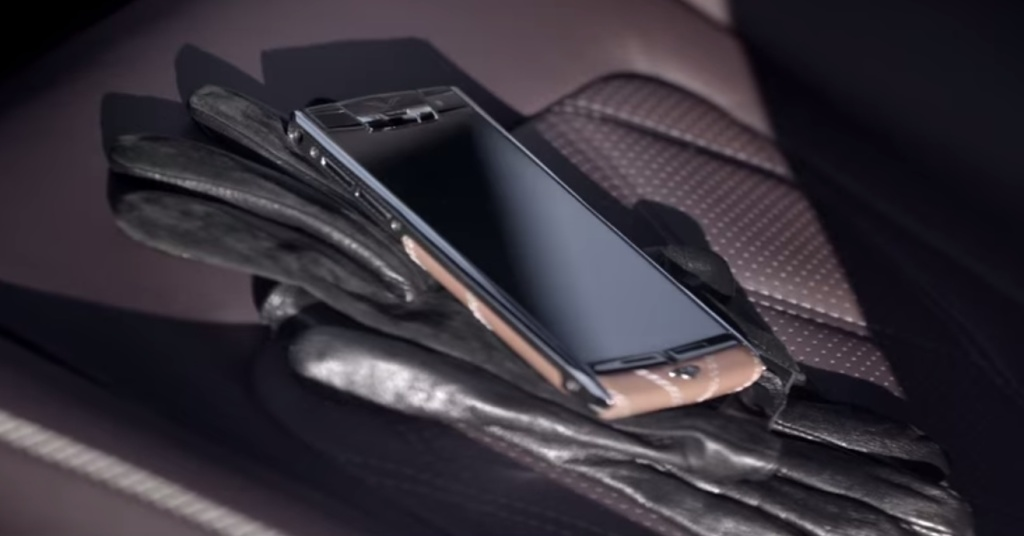 vertu bentley phone price