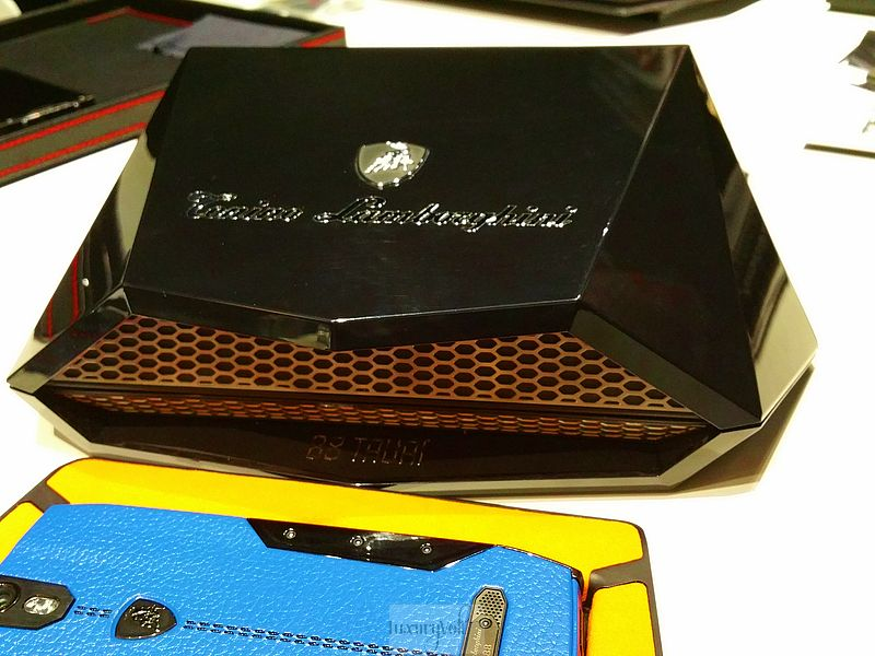 Lamborghini phone luxury phone hands on 2015 price pics-1