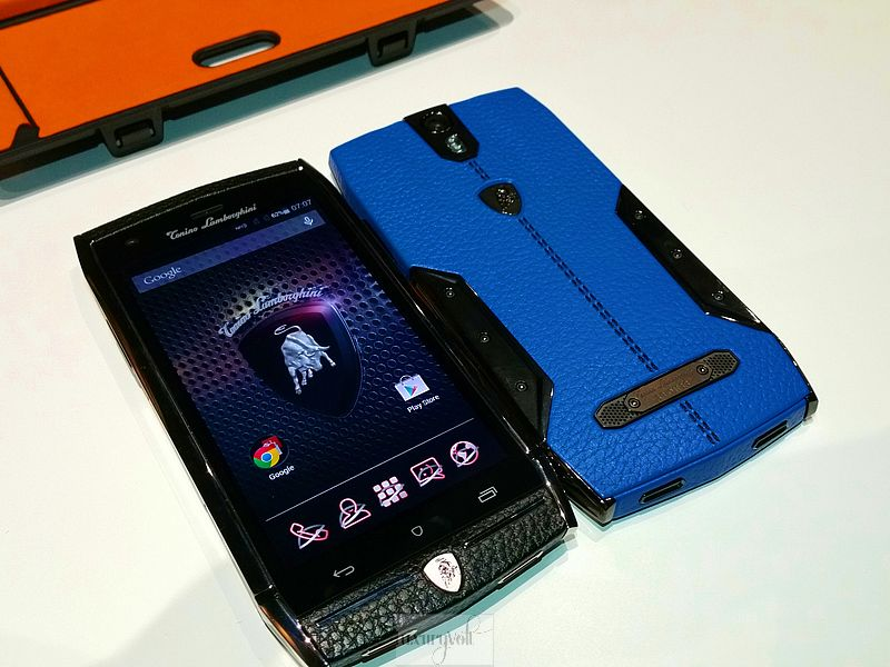 Lamborghini phone luxury phone hands on 2015 price pics-8