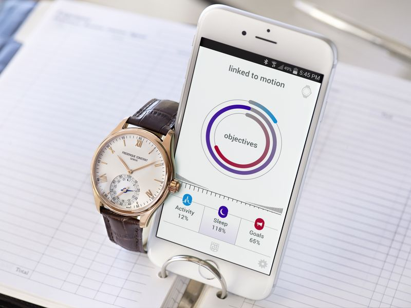 Swiss smartwatch price basel 2015 frederique constant-2