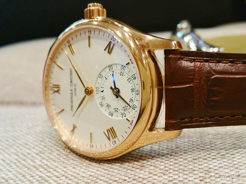 Frederique Constant swiss smartwatch hands on India Watch blog-1