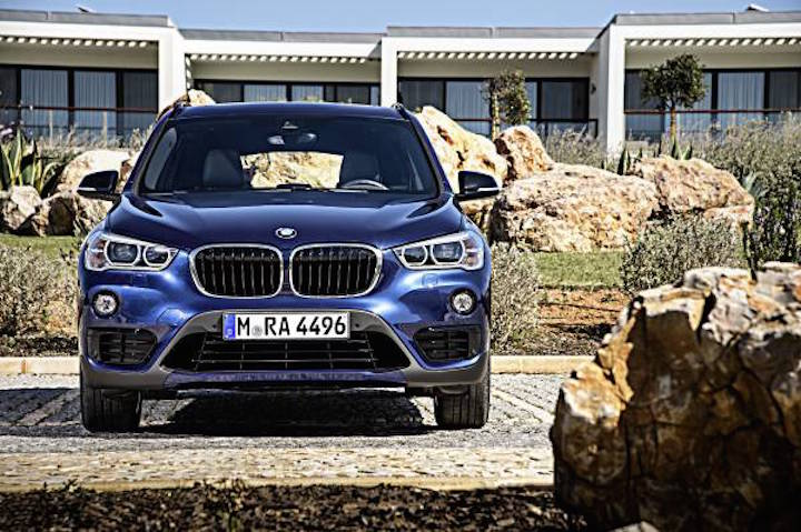 New BMW X1 2015 2016 Blue Luxury Autp Blog India