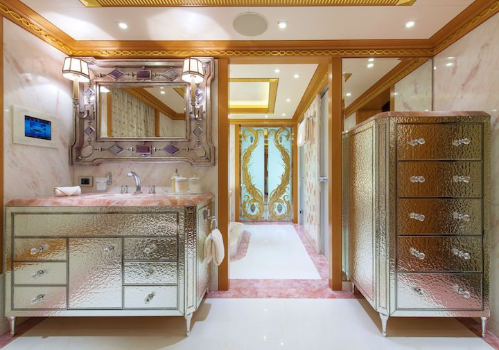 Venetian Bathroom with Owners Bedroom