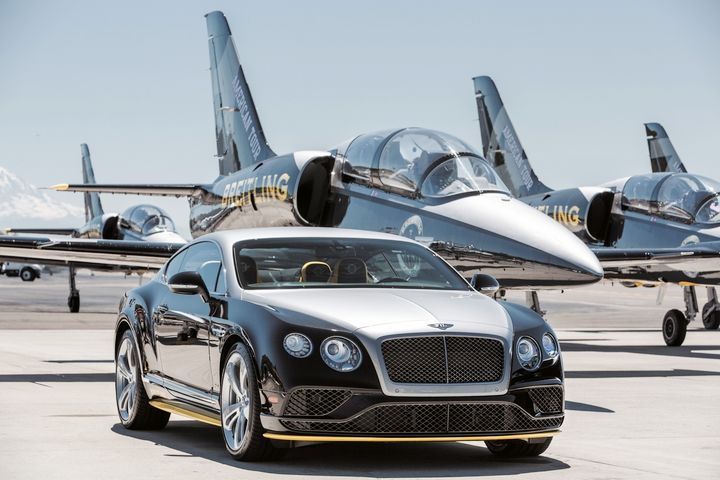 luxury car bentley  Bentley For Breitling : When a Swiss Watch Inspires a Luxury Car ...