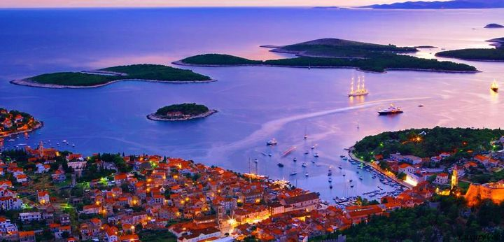 Hvar long shot croatia