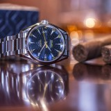 Wrist On Review: Omega James Bond Blue Watch Aqua Terra 150