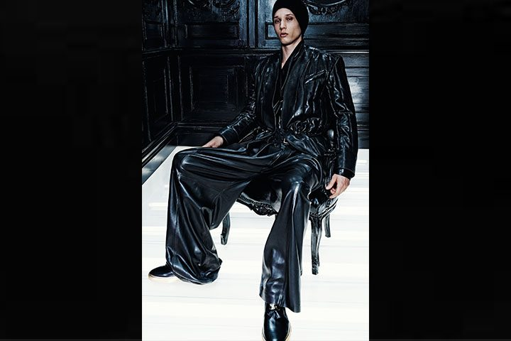 blamain leather pants