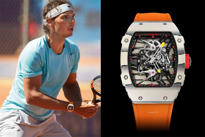 nadal wrist watch price orange
