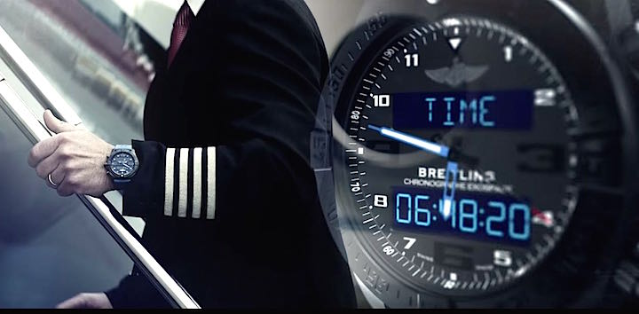 Breitling smart function connected watch
