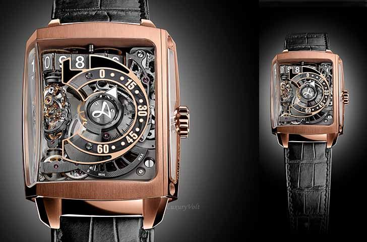 Hautlence HL2.6 New watches 2016 sihh gold price