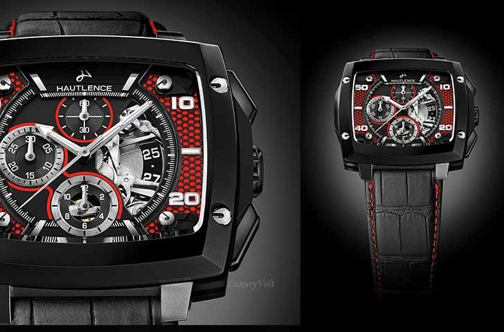 hautlence invictus red black new watch 2016