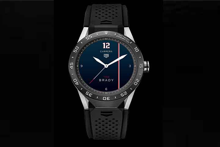 tom brady tag heuer watch smart android price