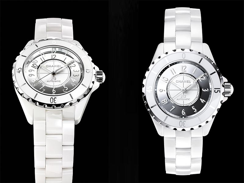 J12 ceramic white chanel watch 2016