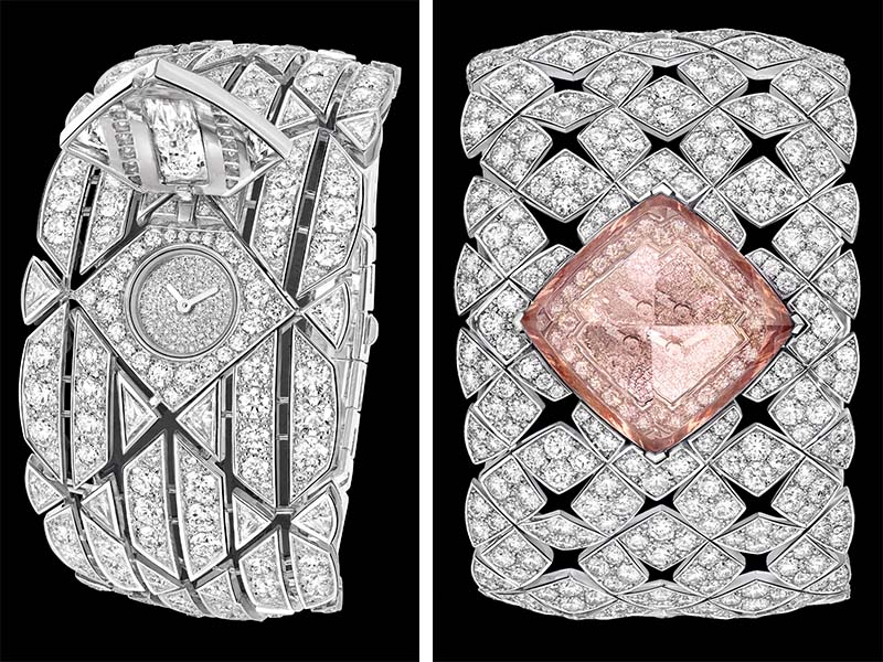 hidden watch diamond watch chanel