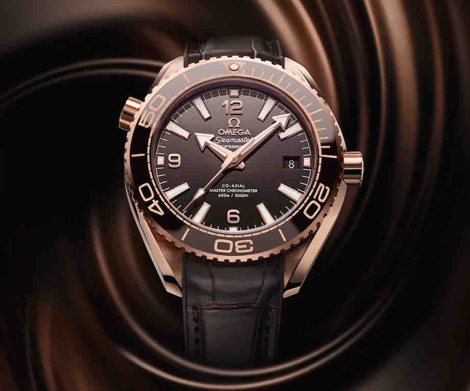 omega basel 2016 brown watch