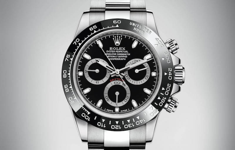 black dial black ceramic rolex daytona price