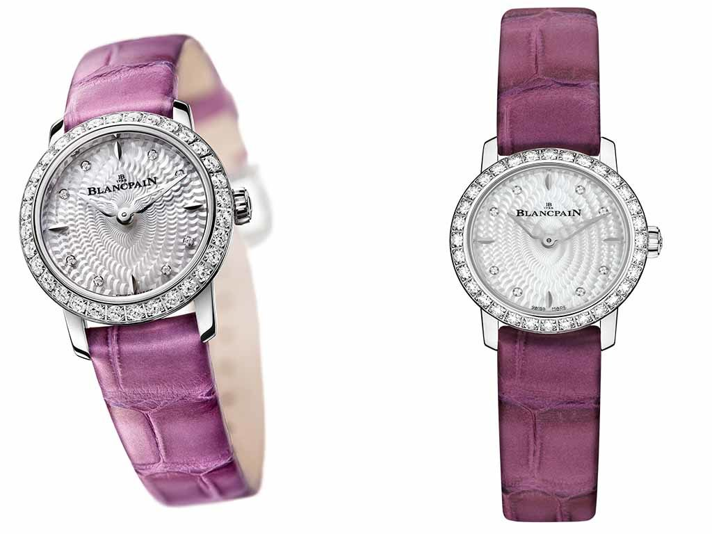blancpain ladies basel pink 2016 watch price