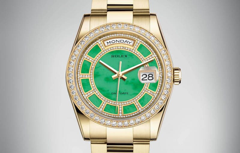 day date 2016 green