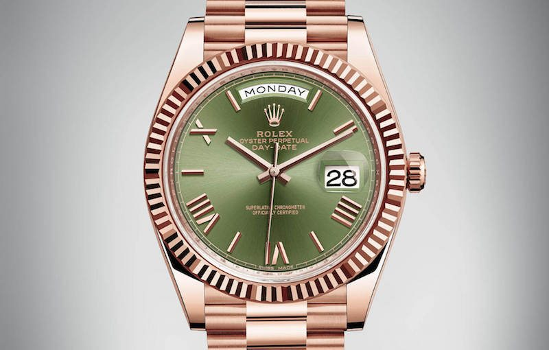 day date green