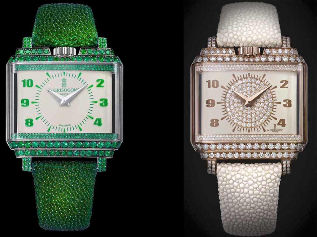 de grisogono ladies diamond watches basel 2016