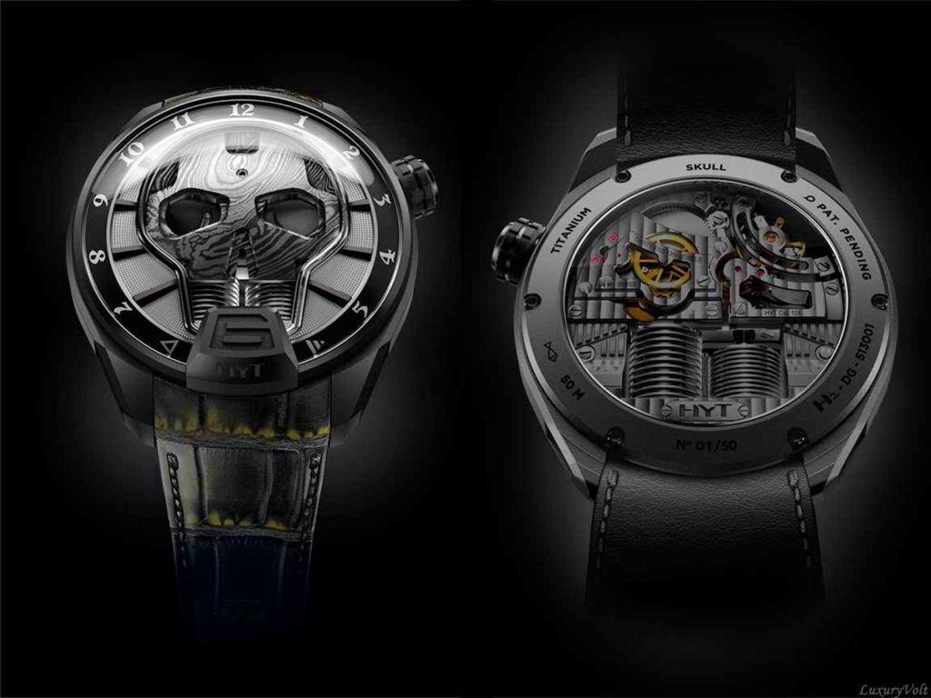 hyt black skull watch basleworld 2016 hyt price-6