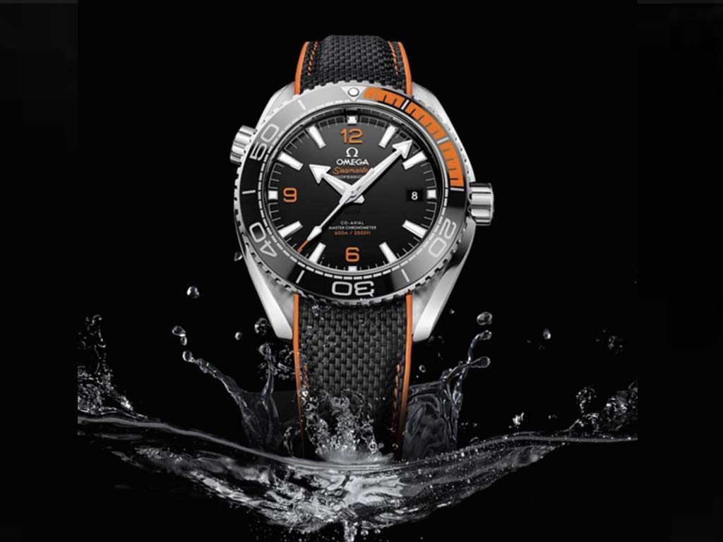 seamaster orange and black omega 2016 price