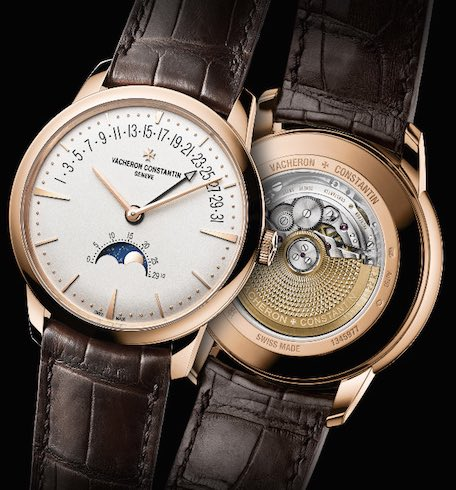 SIHH 2017 Vacheron Constantin Patrimony Moon Phase and Retrograde Date