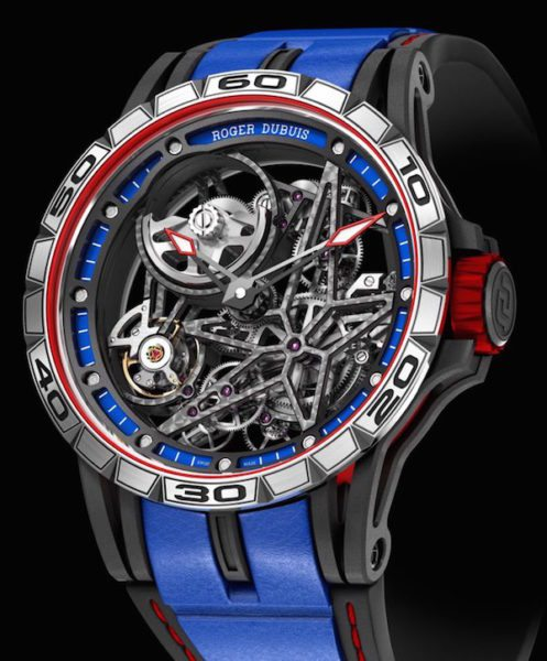 SIHH 2017 Roger Dubuis Excalibur Spider Skeleton Automatic