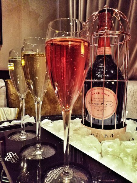 Laurent perrier champagne blogger