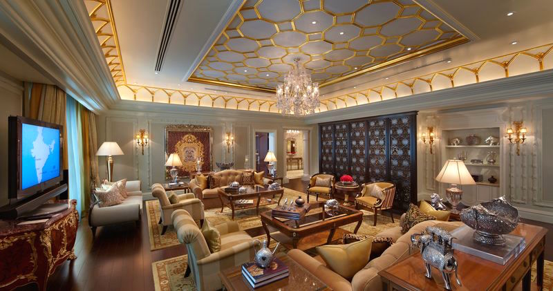 Presidential Suite leela hotel delhi best luxury hotels