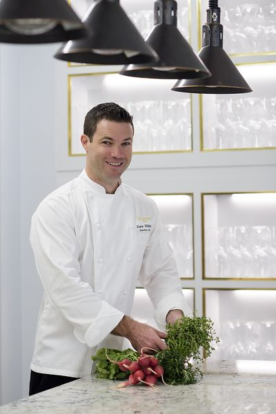 Chef Dave Whitting, The Langham Sydney