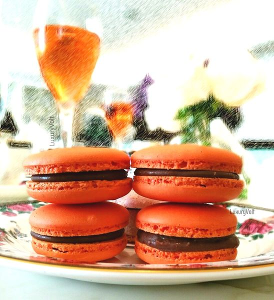 Orange Macarons best sydney food