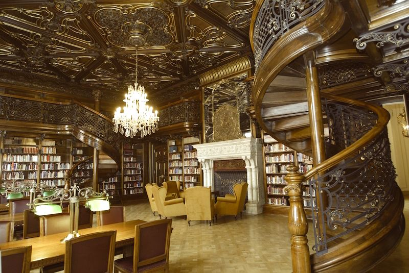 Ancient library budapest