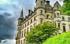 Biggest castles in Scotland travel blog