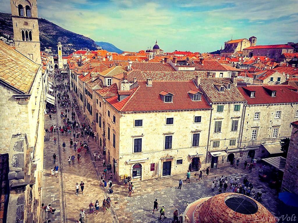 Old Town Dubrovnik is Kings landing Game of Thrones Season 7 & 8 locations