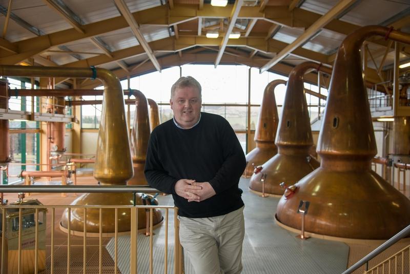 Mr Ian Logan, Brand Ambassador Chivas Brothers. Ian is also the curator of The Glenlivet Whisky School