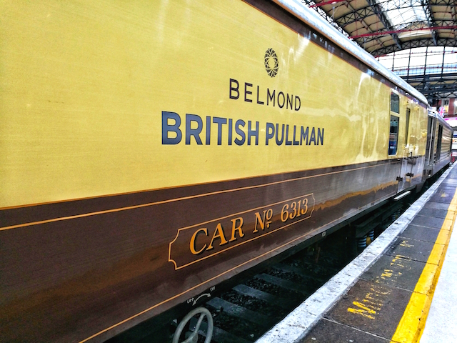 Old World Beauty: The Belmond British Pullman train captured with Honor 7X. No filters!