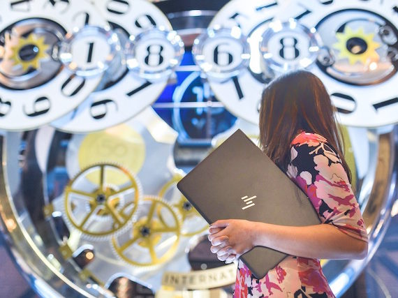 My HP Spectre X 360 at SIHH 2018