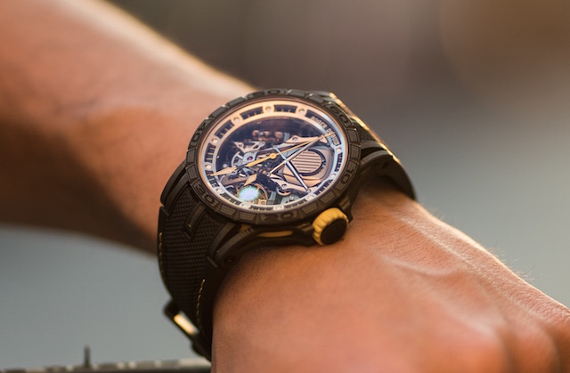Excalibur Aventador S in pink gold is limited to 28 pieces.