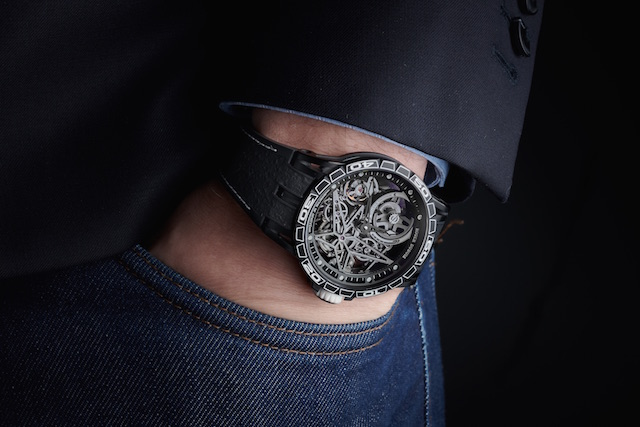 Excalibur Spider Pirelli - Automatic Skeleton. An automatic watch that looks this good!