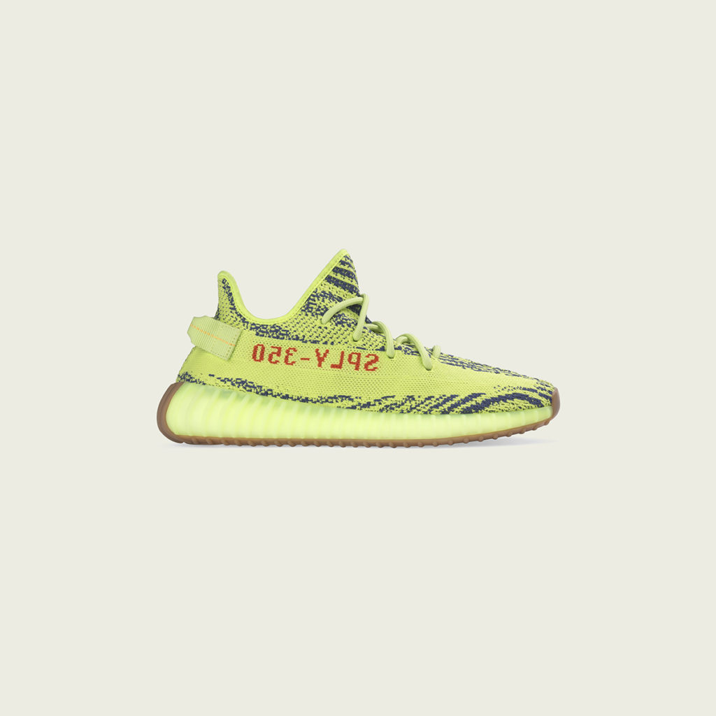 bcfe121611f45 The YEEZY BOOST 350 V2 is available in flavourful colours of Semi Frozen  Yellow Grey