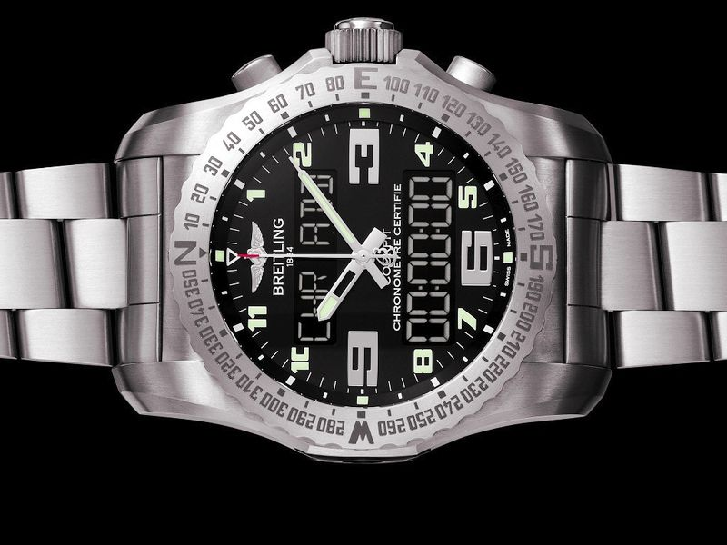 Breitling Launches Smartwatch Clock For Pilots